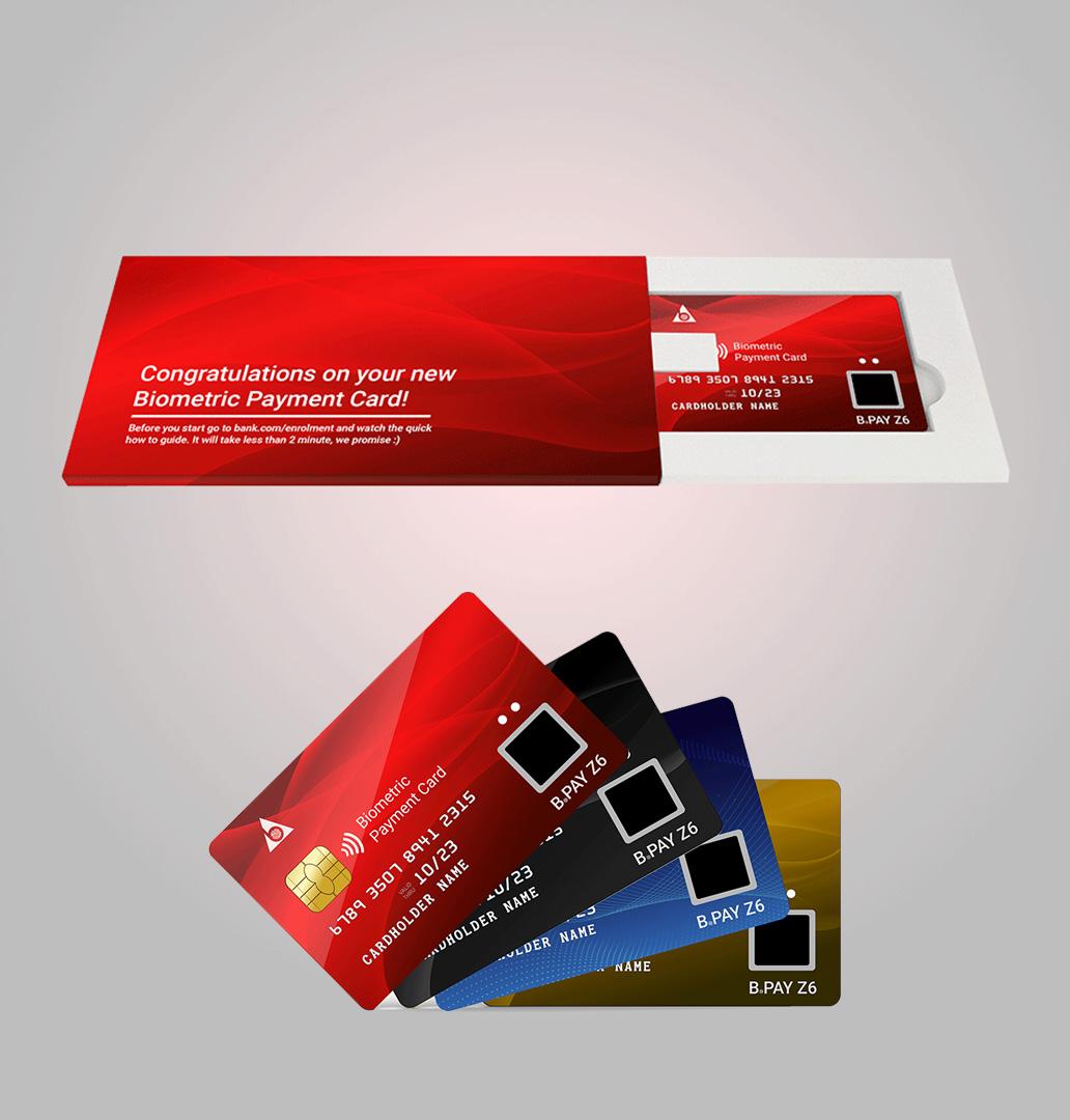 fingerprint payment card