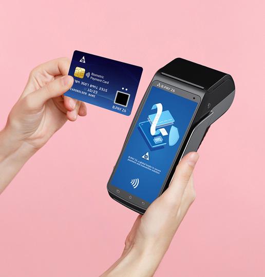 fingerprint payment cards