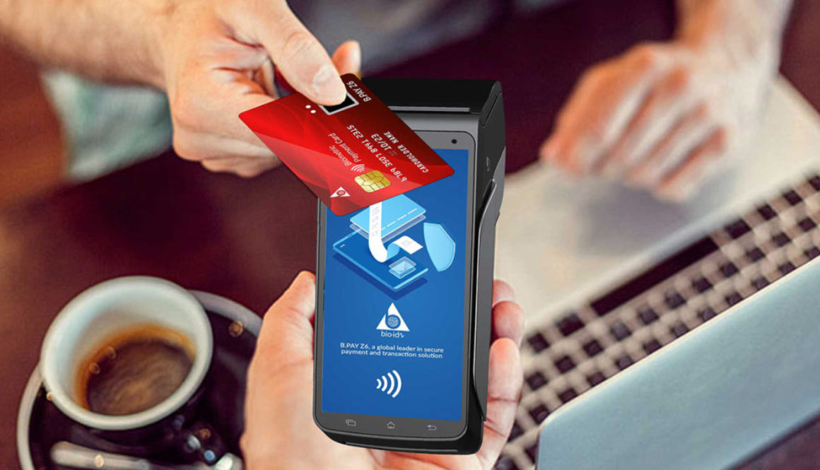 contactless biometric card
